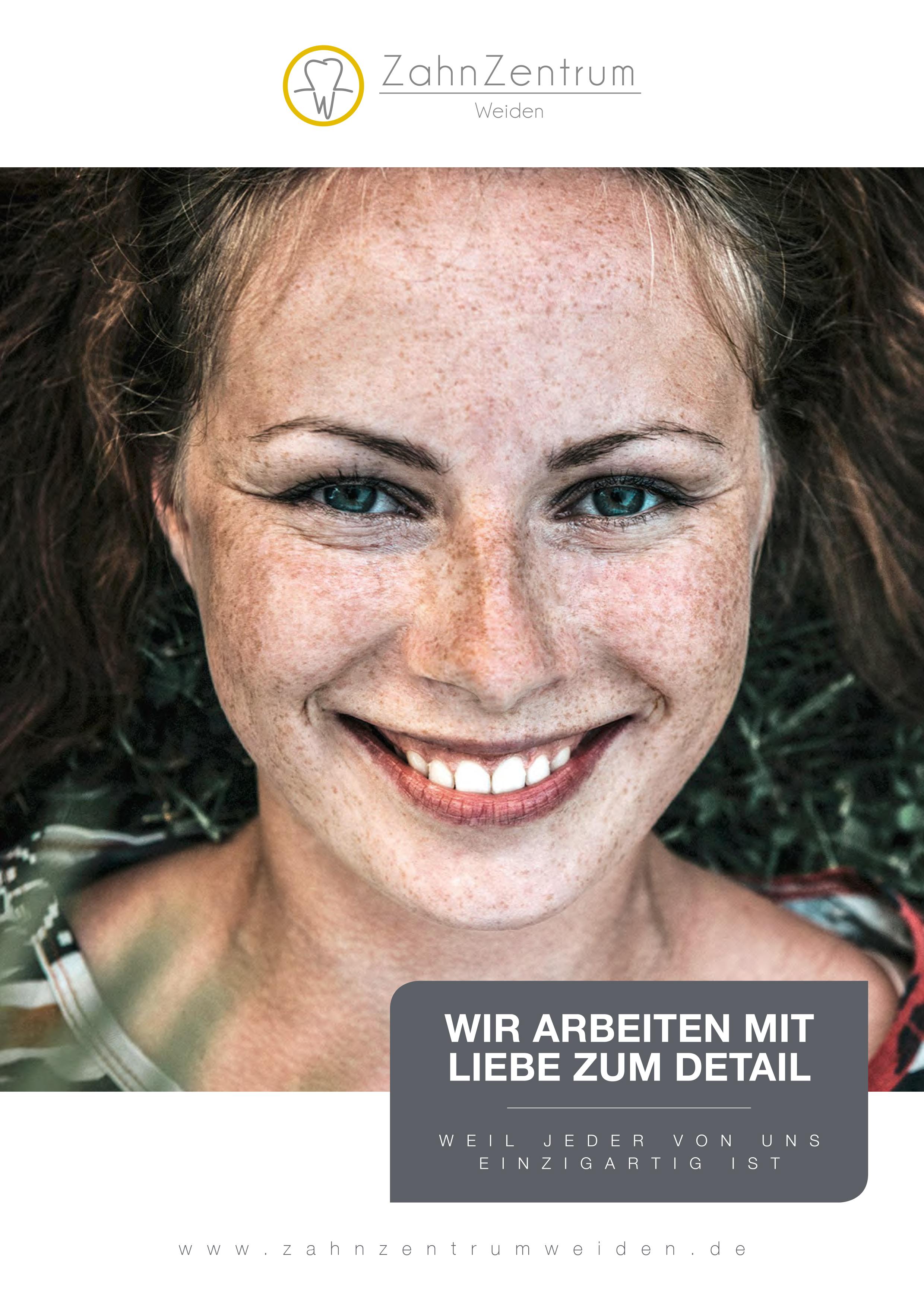 Zahnzentrum-Weiden-Broschuere